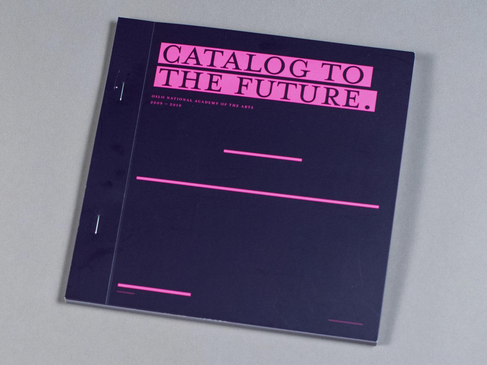KHiO katalog - forside. Bilde.