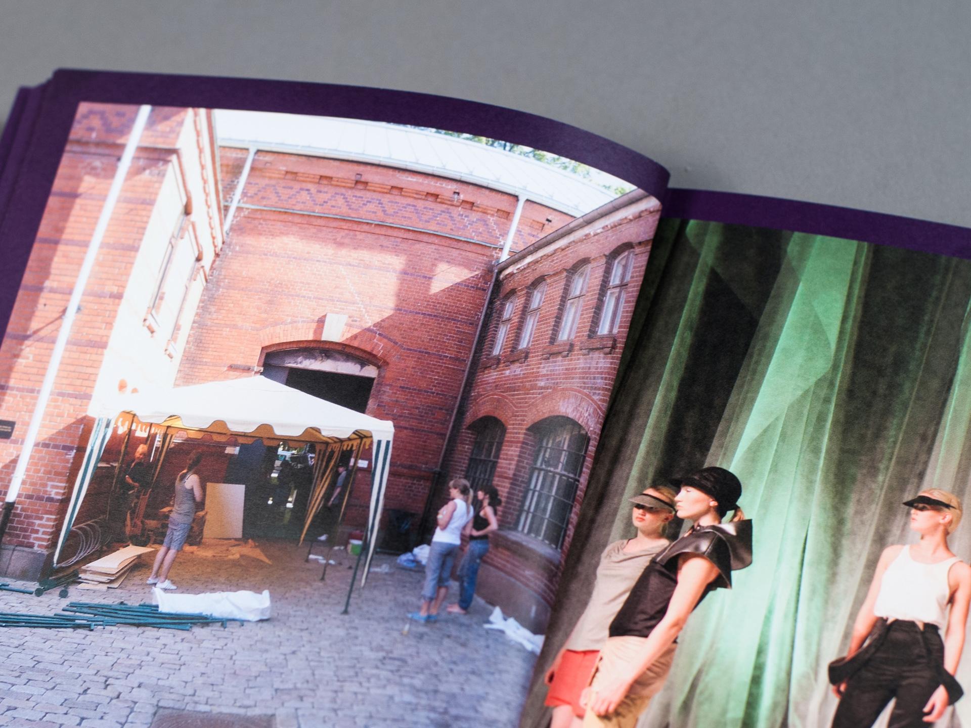 KHiO katalog - innside. Bilde.