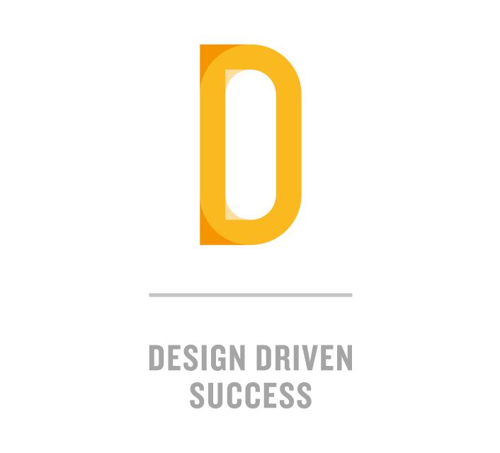 Oslo D logo og slagord på hvit bakgrunn. Grafikk.