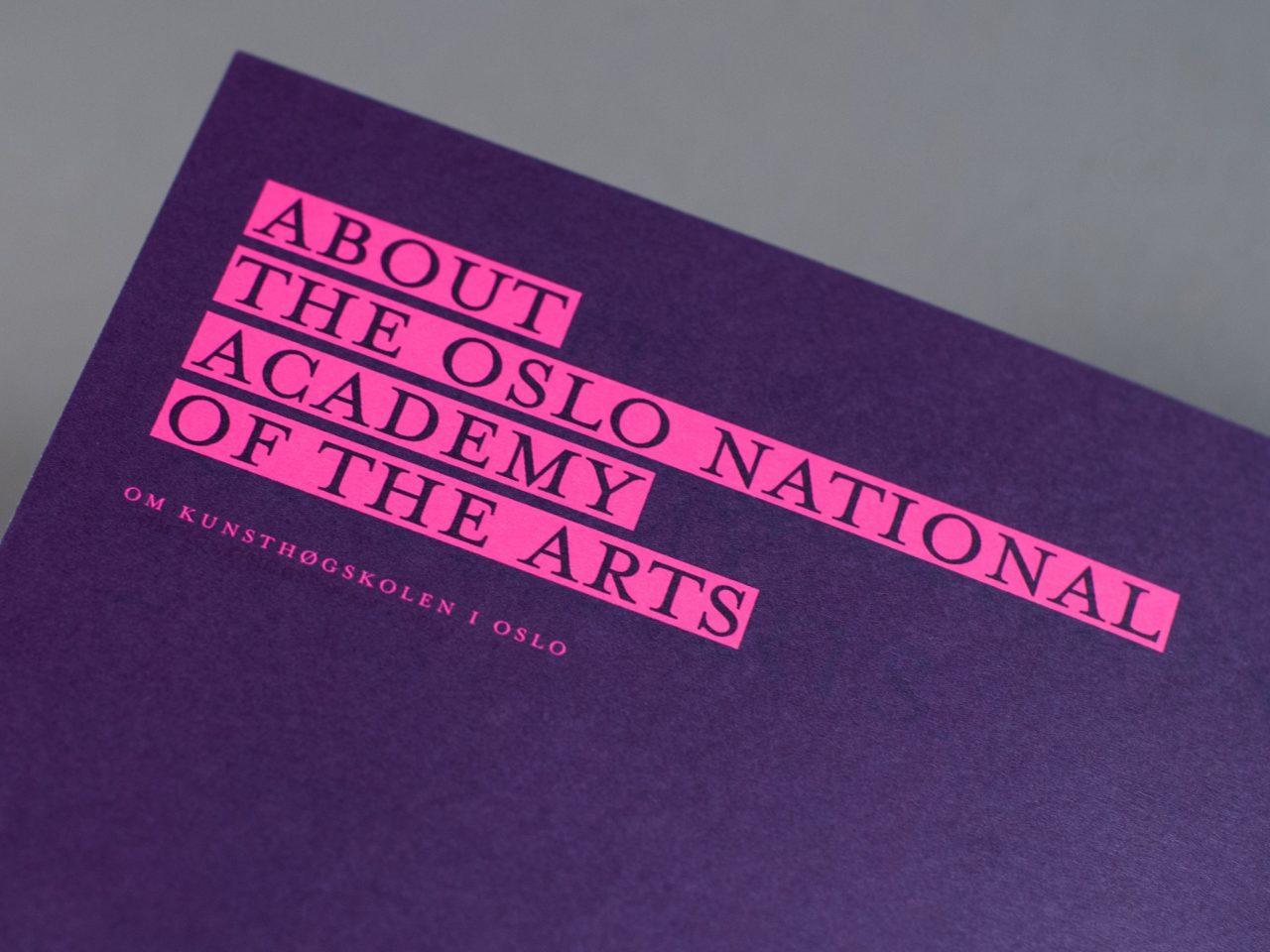 KHiO katalog overskrift