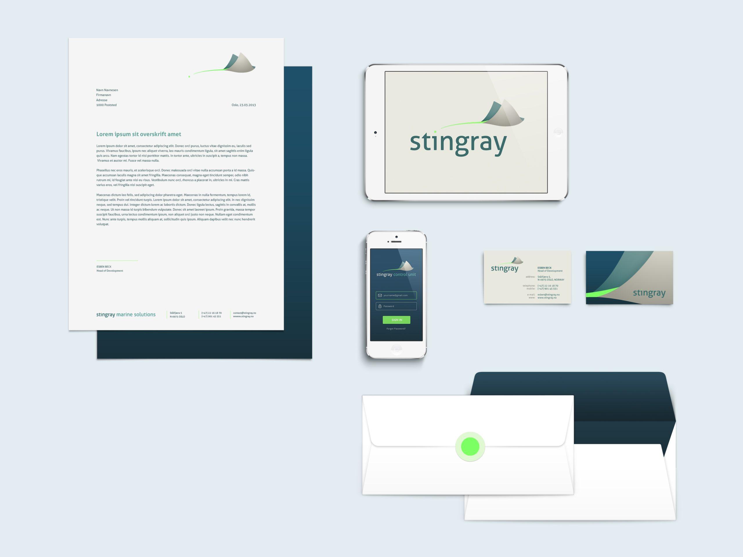 Stingray oversikt profil